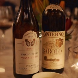 1988 Aldo Conterno Cicala and Giacomo Conterno Monfortino by Paul Kaan for Wine Decoded