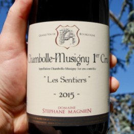 Stephane Magnien Chambolle-Musigny 1er Cru 'Les Sentiers' 2015 by Paul Kaan for Wine Decoded Centered