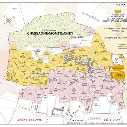Chassagne Montrachet Map