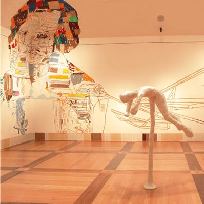 Parte de la exposición temporal How latitudes become forms. Arte en la era global presentada en el Museo en 2005.