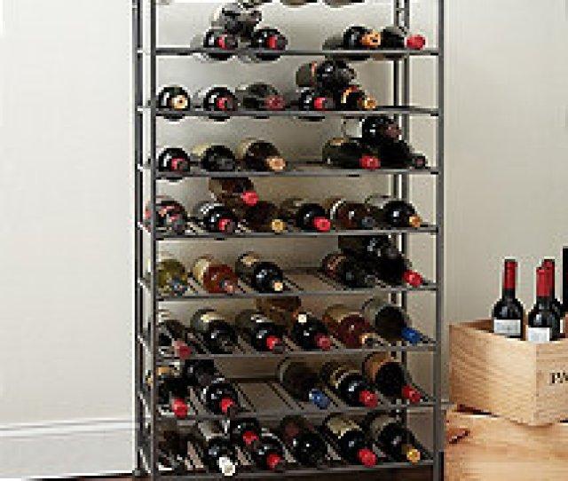 Folding Metal Wine Rack