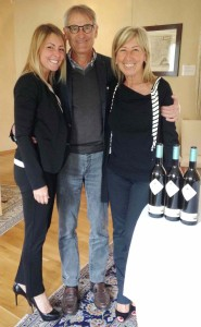 Proprietors of Marchesi di Barolo, Ernesto and Anna Abbona with daughter Valentina.
