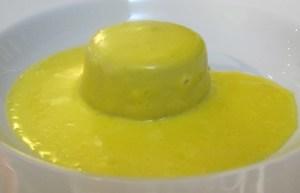 Cardi flan with fonduta