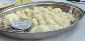 Gnocchi al Castelmagno is a speciality of the region not to be missed!