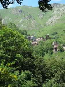 Rifugio Valliera, nestled at timberline in the Commune of Castelmagno.