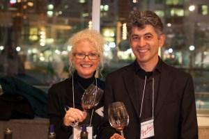 Maurizio and Mia Rosso of Cantina Gigi Rosso.