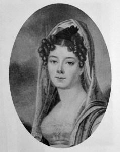 Young Giulia Colbert Falletti, Marchesa di Barolo