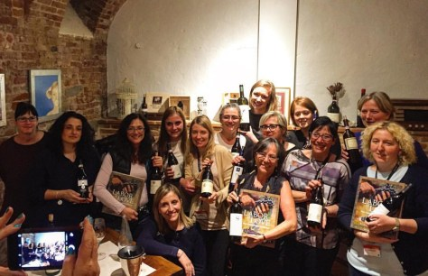 Girl power in Alba during Nebbiolo Prima