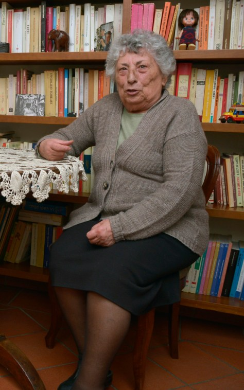 Franca Maccarello, mother of Maria Teresa. Photo credit - Elisabetta Vacchetto