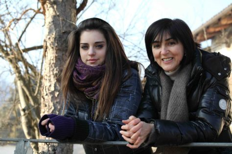 Ornella Correggia and her daughter, Brigitta. Photo Credit: Carlo Avataneo