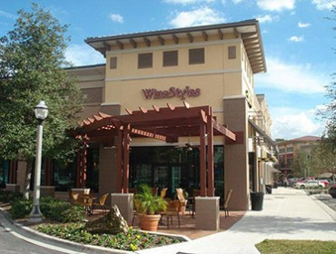 front of winestyles store