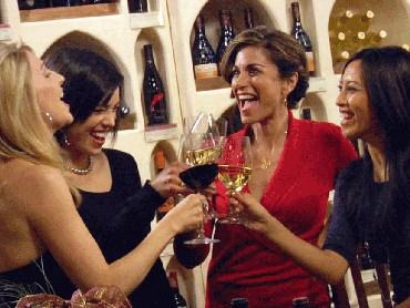 ladies at winstyles wine tasting