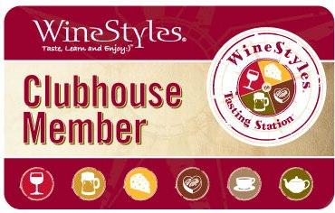 Winestyles Wine Club membership card image