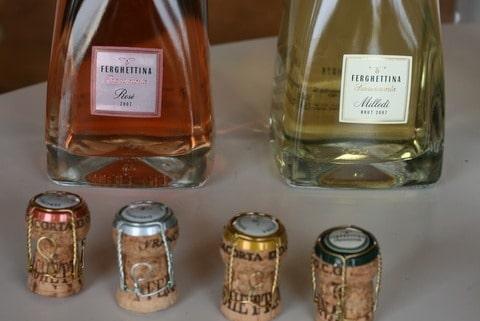Ferghettina bottles