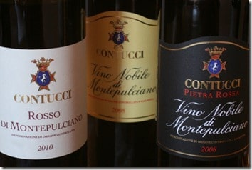 Contucci wines
