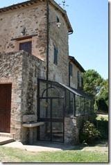 Le Chiuse di Sotto - house over the winery