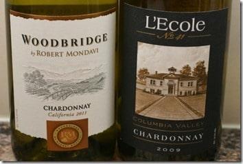 Two Chardonnays