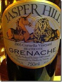Jasper Hill Grenache