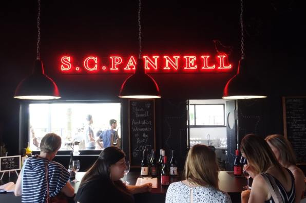 Winebar at S C Pannell