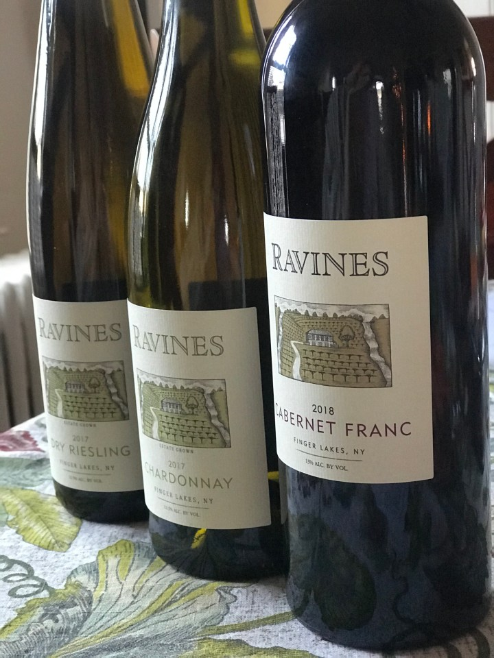 Influencer Status – Reviewing Ravines Wine Cellars