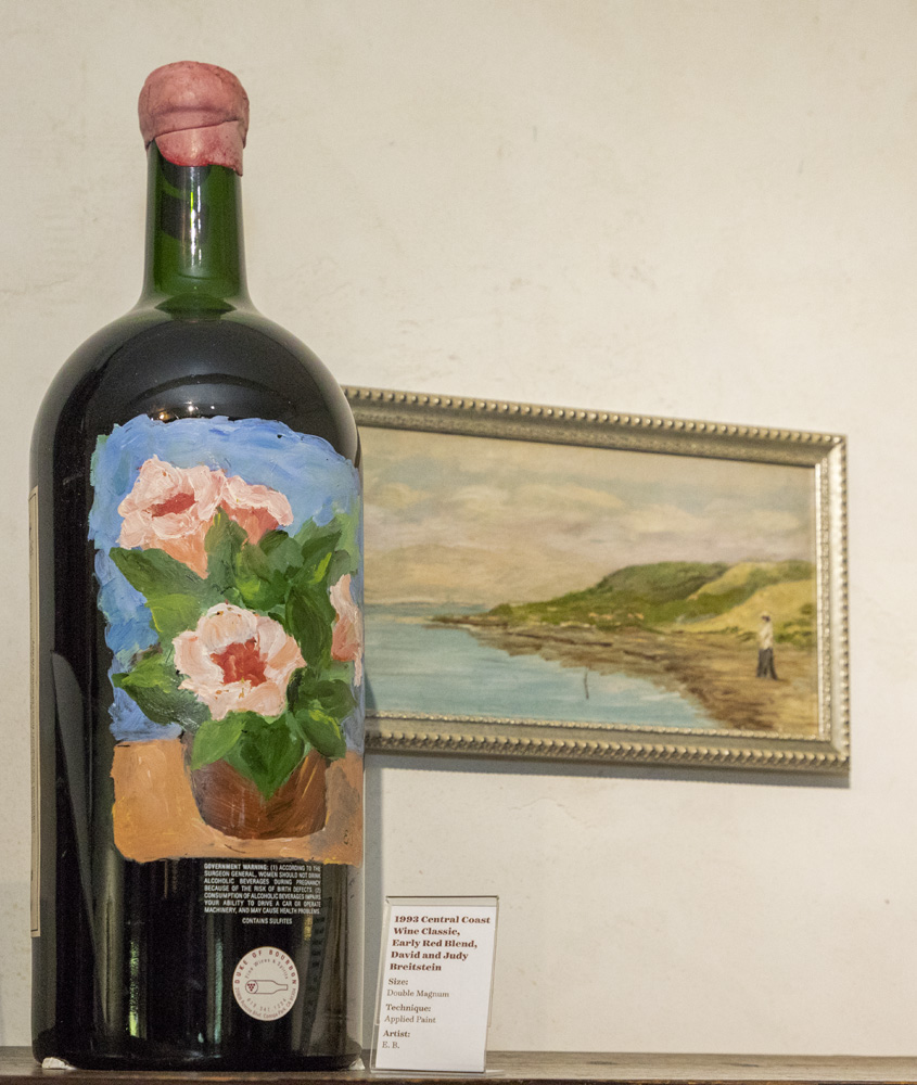 Wine Becomes Art Exhibit Opening, May 5, 2018
