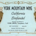 Outstanding Wines of 1960 – York Mountain