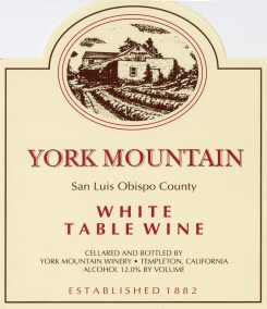 York Mountain Winery - Max Goldman