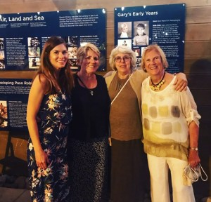 Heather Muran, Karen Petersen, Cindy Lambert, and Libbie Agran of the Wine History Project