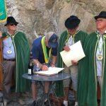 Jim Saunders inducted into Confrerie du Crozes Ermitage