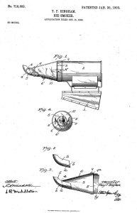 US Patent 718689 Smoker