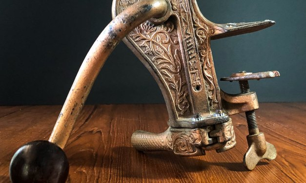 Yankee No. 7 Bar-mounted Cork Puller and Re-Corker, circa 1910