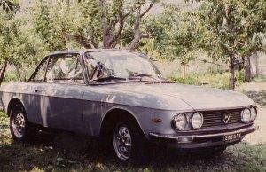 Meo's car in Bolzano, Italy - a Lancia Flavia Coupe