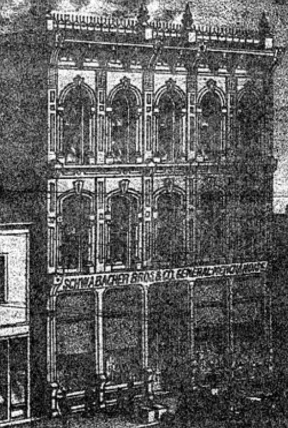 1872 Seattle store