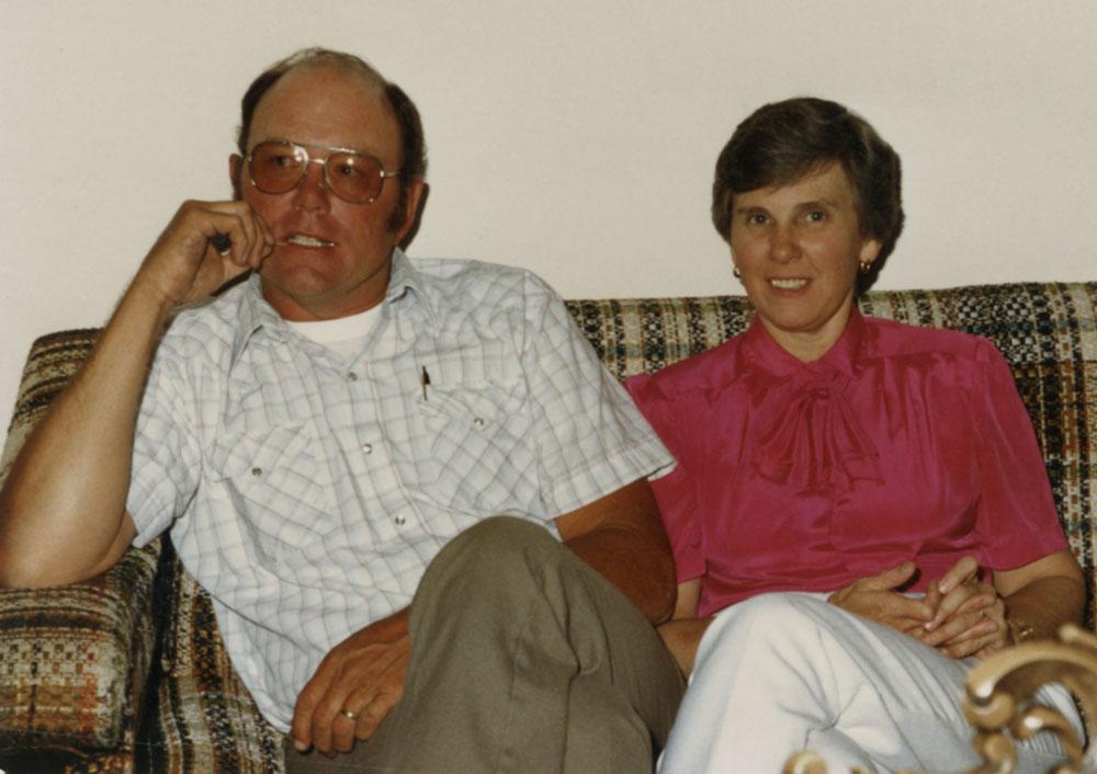 Howie and Bev Steinbeck, 1980