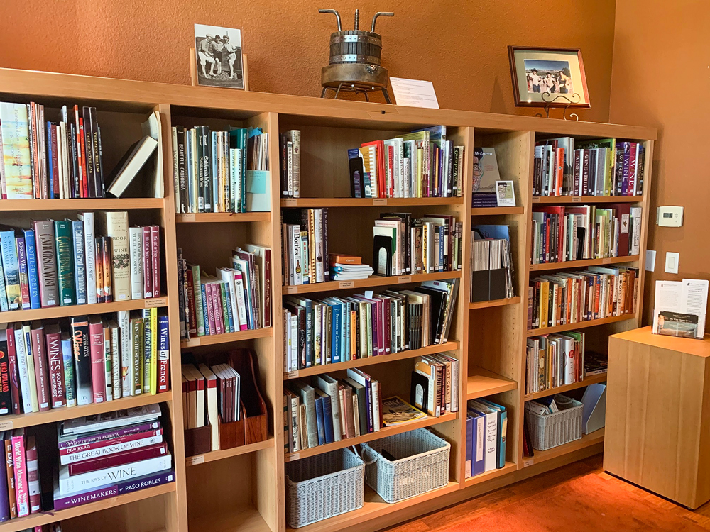 Wine History Project Library