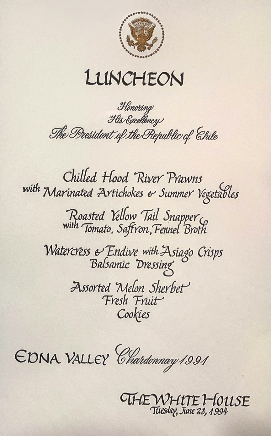WhiteHouseMenu-Jun28-1994-EdnaValley