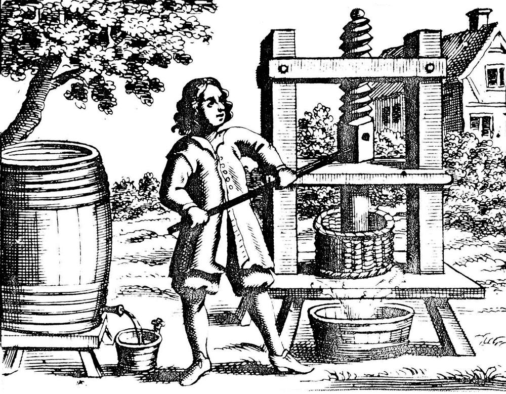 Pressing Cider