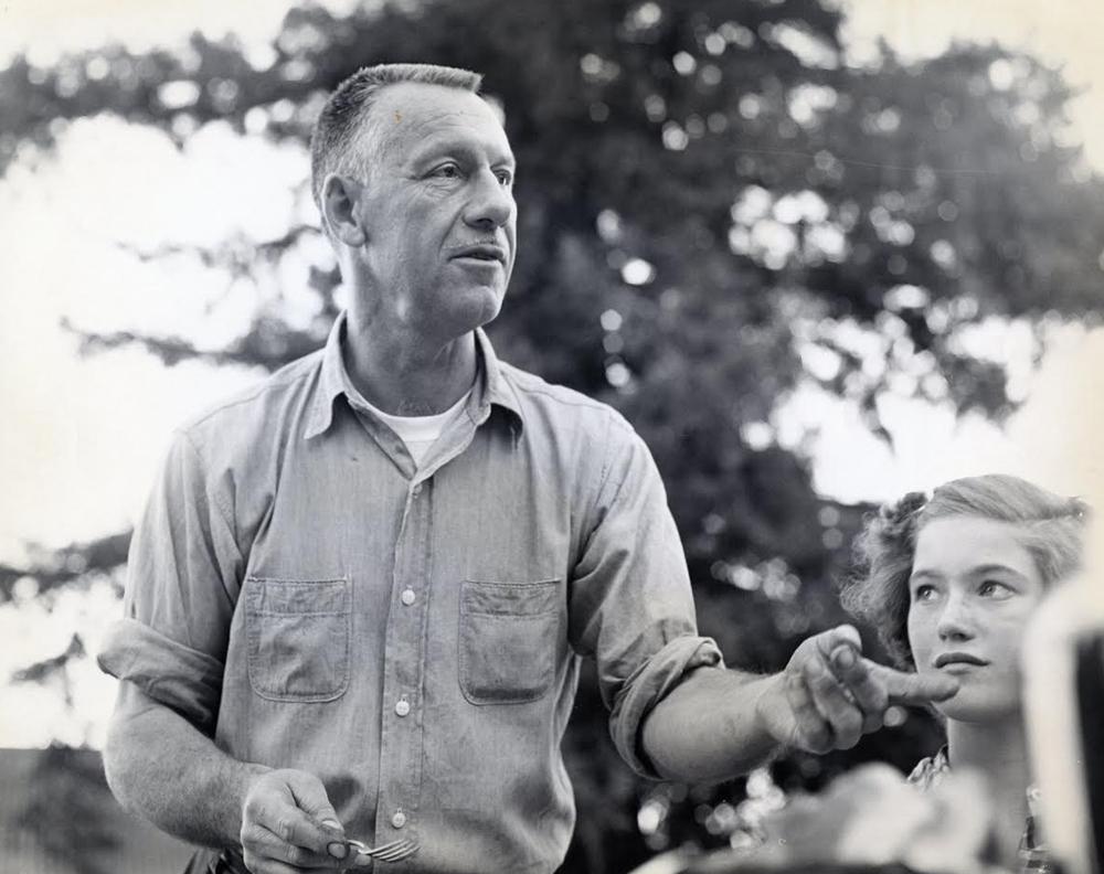 Bill York, Nancie Dellaganna (young girl)