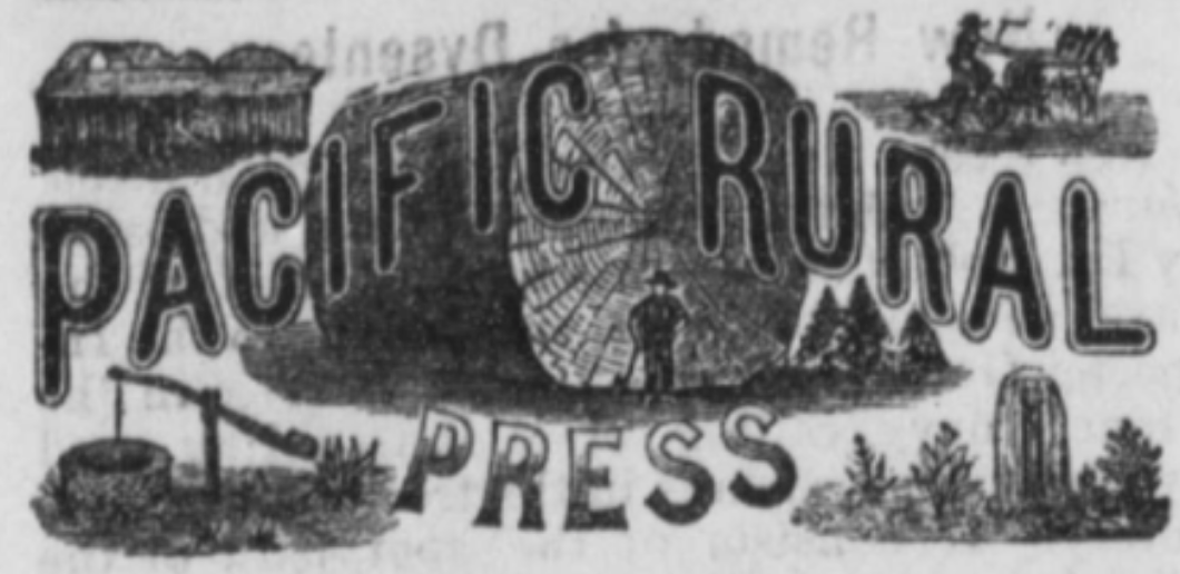 Pacific Rural Press Masthead