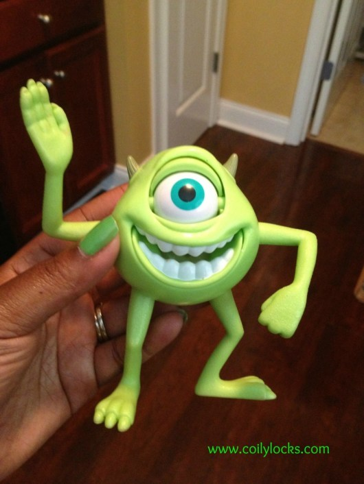 Monsters Inc. nail art 2