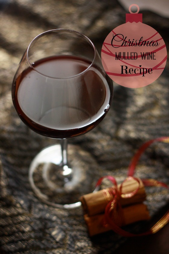 Christmas Mulled Red Wine Recipe