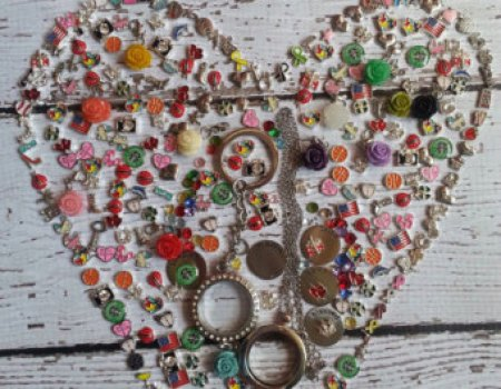 How many charms will fit in your origami owl locket? THIS MANY ...   350x450