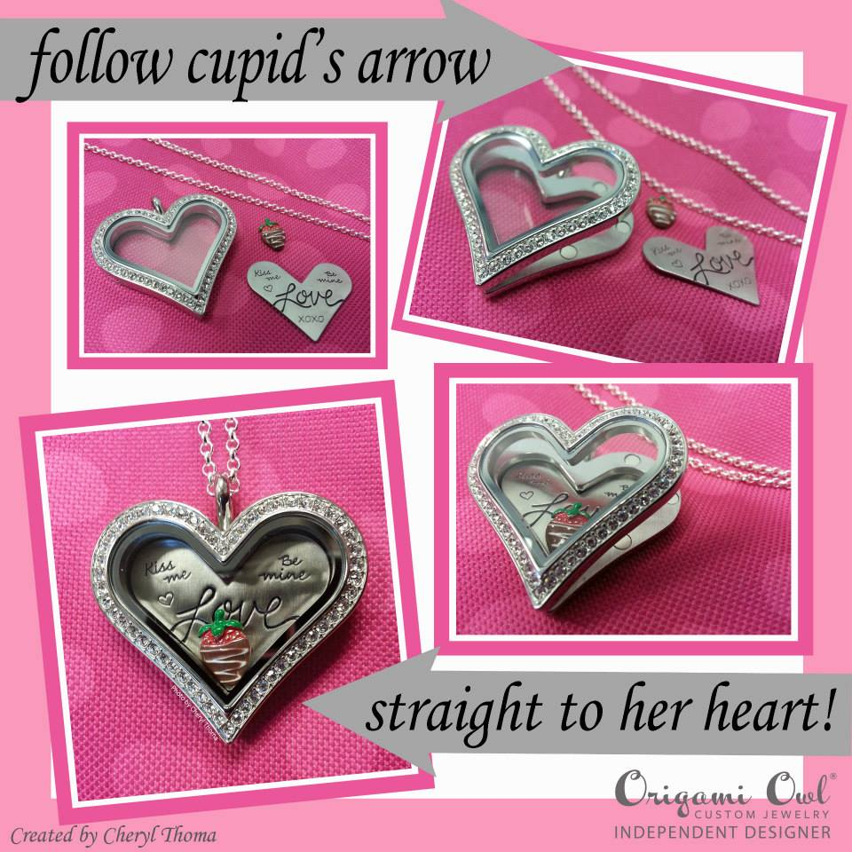 Valentines day gift ideas from origami owl heart locket love valentines day origami owl alisha lampley chain 3 jeuxipadfo Images
