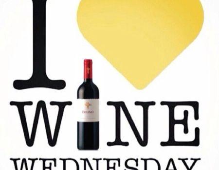 I love wine Wednesday