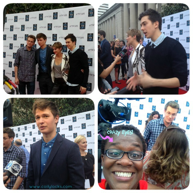 the fault in our stars nashville red carpet event