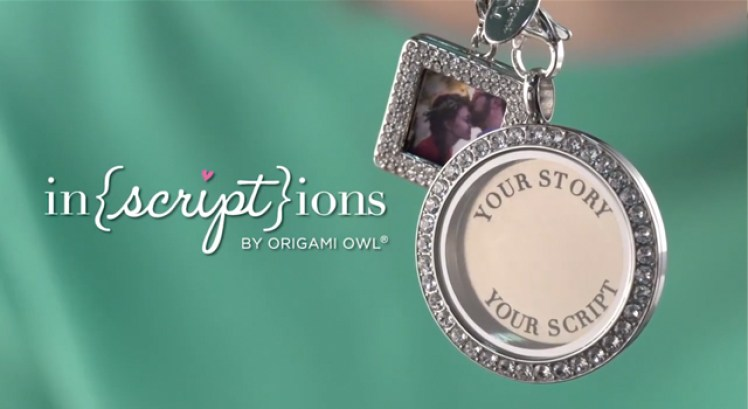 My Inscriptions From Origami Owl Are Here