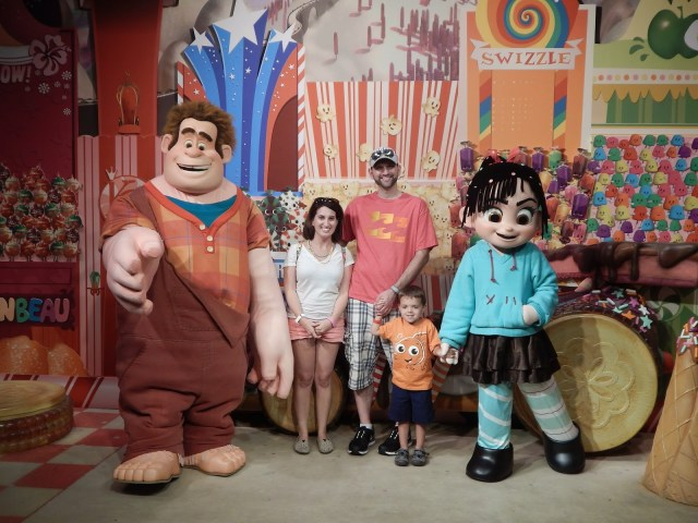 Wreck it Ralph Hollywood Studios