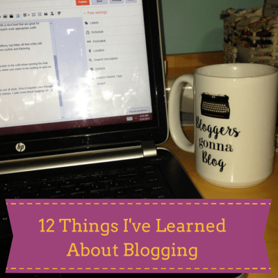 What I've Learned in 4 Years of Blogging