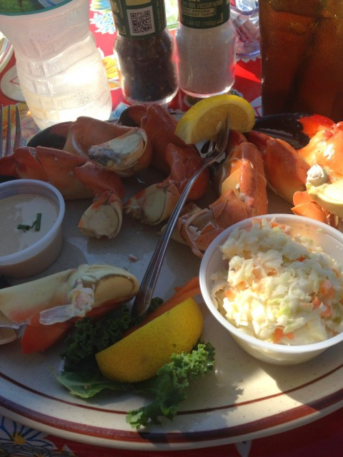 Stone Crab Legs The Little Bar