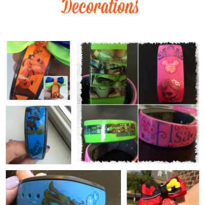 DIY Disney Magic Band Decorations
